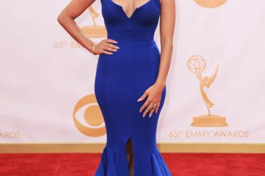 Rocsi Diaz on the Red Carpet at the 65th Emmys