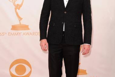 Jesse Tyler Ferguson on the Red Carpet at the 65th Emmys