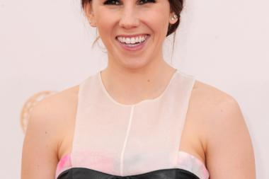 Zosia Mamet on the Red Carpet at the 65th Emmys