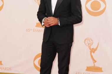 Navid Negahban on the Red Carpet at the 65th Emmys