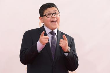 Rico Rodriguez on the Red Carpet at the 65th Emmys