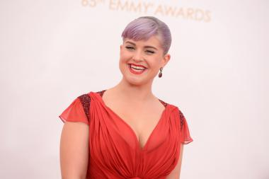 Kelly Osbourne on the Red Carpet at the 65th Emmys