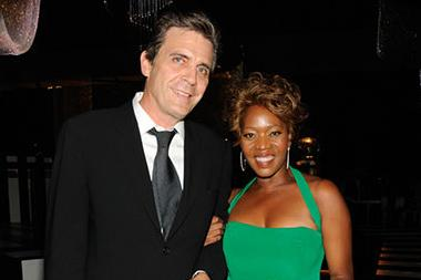 (L-R) Roderick Spencer and Alfre Woodard