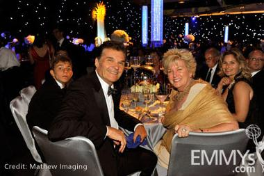 Actor Fred Willard (L) and wife Mary Willard