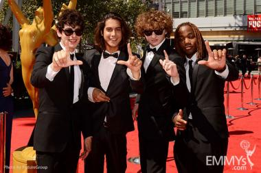 Cast members of Nickelodeon's Victorious