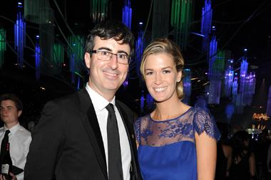 John Oliver and Kate Norley at the Governors Ball