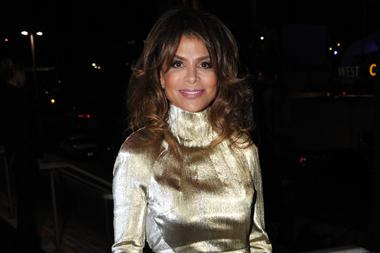 Paula Abdul at the Governors Ball