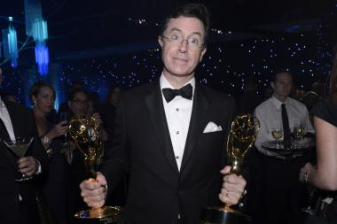 Stephen Colbert at the Governors Ball