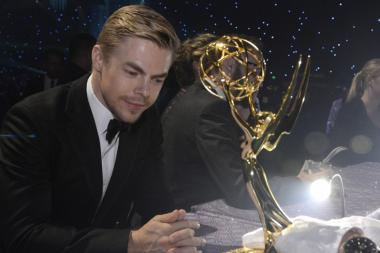 Derek Hough at the Governors Ball