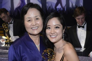 Elaine Ko and Grace Ko at the Governors Ball