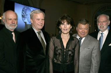 James Burrows, Tom Brokaw, Lucie Arnaz, William Shatner, Leonard Goldberg
