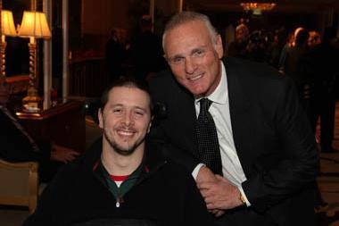 Drew Bates, creator of Redneck Ninjas, and Murphy Brown's Joe Regalbuto.
