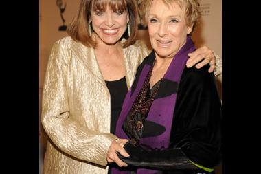 Valerie Harper and Cloris Leachman at the 20th Hall of Fame Induction Gala