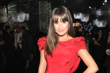 Lea Michele attends the Governors Ball during the Academy of Television Arts & Sciences 63rd Primetime Emmy Awards