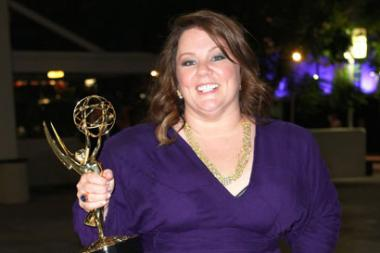 Melissa McCarthy arrives at the Governors Ball during the Academy of Television Arts & Sciences 63rd Primetime Emmy Awards