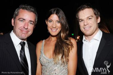 (L-R) Jason Jones, Jennifer Carpenter and Michael C. Hall attend the Governors Ball