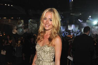 Cat Deeley attends the Governors Ball during the Academy of Television Arts & Sciences 63rd Primetime Emmy Awards