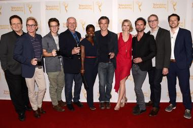 Tom O'Neill, Jere Burns, Jacob Pitts, Nick Searcy, Erica Tazel, Timothy Olyphant, Joelle Carter, Walton Goggins, Fred Golan, Dave Andron