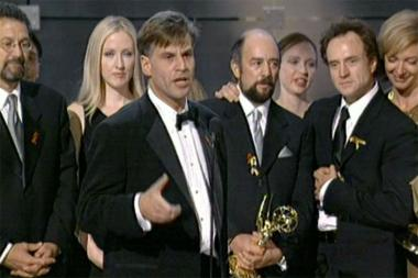 Merveilleux Aaron Sorkin Accepts The Emmy For Drama Series