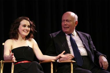Sophie McShera, Julian Fellowes