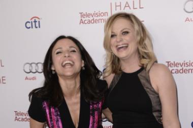 Julia Louis-Dreyfus and Amy Poehler