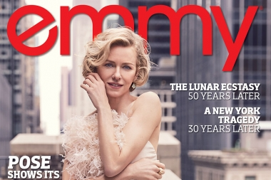 Naomi Watts On The Cover Of Emmy Magazine