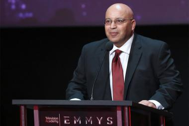 Alex Azmi at the L.A. Area Emmy Awards presented at the Television Academy's Wolf Theatre at the Saban Media Center on Saturday, July 22, 2017, in North Hollywood, California.