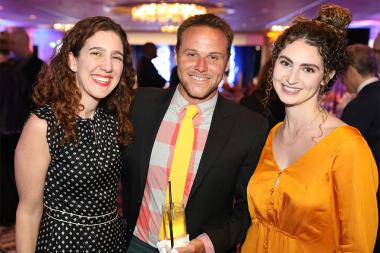 Biz Urban, Tim Pratt, Morgan Rudner, 12th Annual Television Academy Honors,
