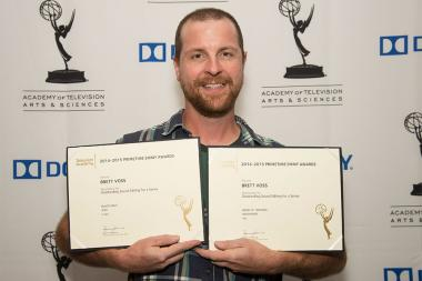 Brett Voss at the Sound and Sound Editors nominee reception September 10, 2015 in Los Angeles, California.