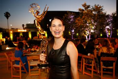 Cara Santa Maria at the L.A. Area Emmy Awards presented at the Television Academy's Wolf Theatre at the Saban Media Center on Saturday, July 22, 2017, in North Hollywood, California.