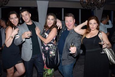 Chelsey Lourbosilla, Elijah Dylan Costa, Robin Humbert, Daniel Olek Suik, and Lauren Melzner at the Documentary Programming and Reality Programming nominee reception September 11, 2015 in Los Angeles, California.