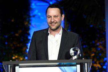 Dan Fogelman at the 2017 Television Academy Honors at the Montage Hotel on Thursday, June 8, 2017, in Beverly Hills, California.