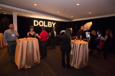 Nominees and guests at Dolby Studios for the Sound and Sound Editors nominee reception September 10, 2015 in Los Angeles, California.