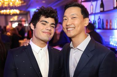 Emery Kelly, Eddie Shin, 12th Annual Television Academy Honors