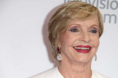 Florence Henderson arrives at the 68th Los Angeles Area Emmys, July 23, 2016, at the Saban Media Center, North Hollywood, California.