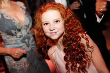 Francesca Capaldi at the 2015 Creative Arts Ball.