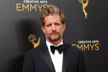 Paul Sparks arrives on the red carpet at the 2016 Creative Arts Emmys.