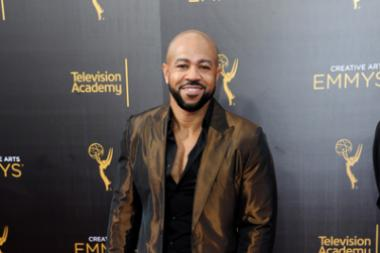Jim Beanz on the red carpet at the 2016 Creative Arts Emmys.