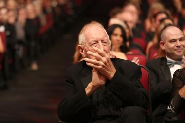 Max von Sydow attends the 2016 Creative Arts Emmys.