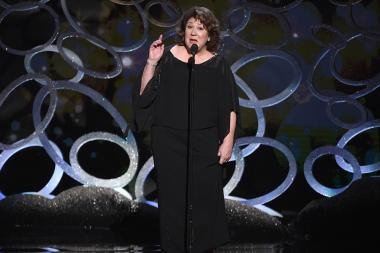 Margo Martindale onstage at the 2016 Creative Arts Emmys.