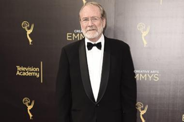 Martin Mull on the red carpet at the 2016 Creative Arts Emmys.
