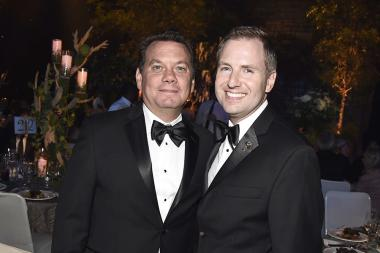 Patrick Welborn and Maury McIntyre at the 2016 Creative Arts Ball.