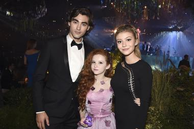 Blake Michael, Francesca Capaldi and G. Hannelius at the 2016 Creative Arts Ball.
