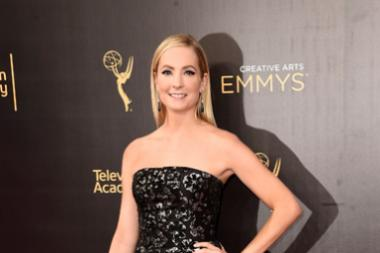 Joanne Froggatt on the red carpet at the 2016 Creative Arts Emmys.
