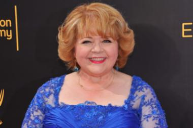 Patrika Darbo on the red carpet at the 2016 Creative Arts Emmys.