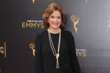 Jessica Walter on the red carpet at the 2016 Creative Arts Emmys.