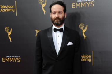 Daniel Ward on the red carpet at the 2016 Creative Arts Emmys.