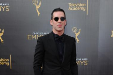 Rich Blomquist on the red carpet at the 2016 Creative Arts Emmys.