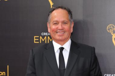 Kevin Kay on the red carpet at the 2016 Creative Arts Emmys.
