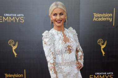 Julianne Hough on the red carpet at the 2016 Creative Arts Emmys.